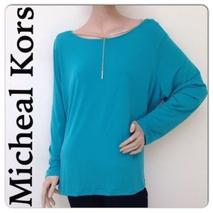Michael Kors Tops - 🆑Extra 60% Off🆑NEW With Tag  MK Drop Chain Top