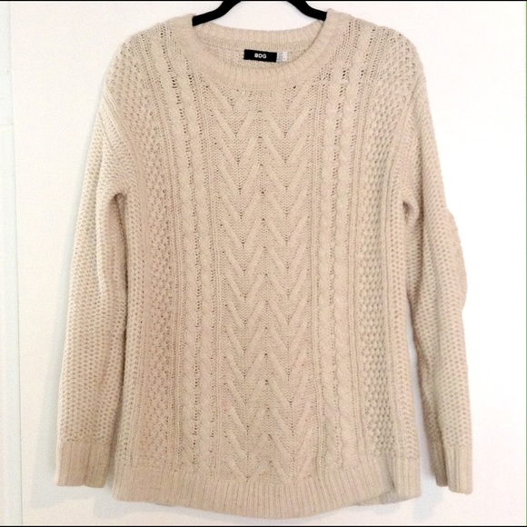 Bdg Sweaters Cream Oversized Cozy Chunky Cable Knit Sweater Poshmark