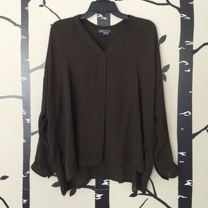 Vince loose silk top