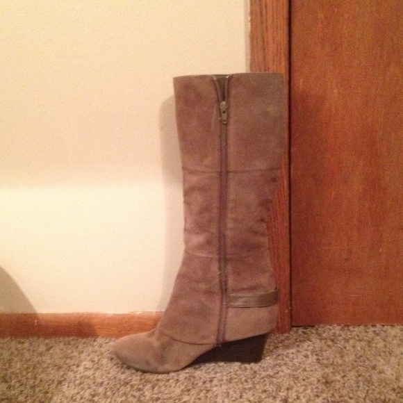 77 fergie shoes wedge boots from kelsey s closet on