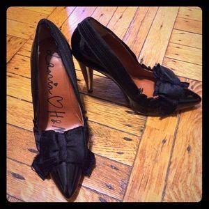 SALE  Lanvin for H&M Patent Bow Heels