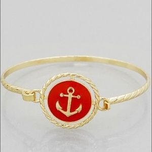 Hannah Beury Jewelry - 🍉 Red Anchor Bracelet