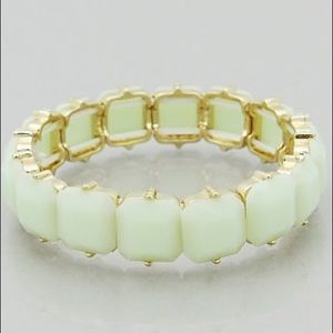 Hannah Beury Jewelry - 🍉 Light Green Bracelet