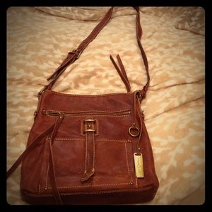NWOT Lucky brand leather Crossbody handbag