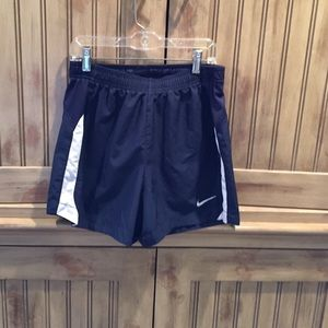 Nike navy dri-fit shorts