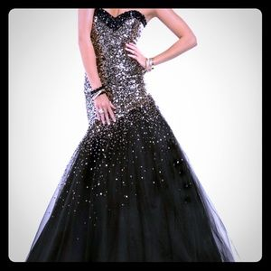 Dresses & Skirts - Gold/Silver Sparkle Pageant/Prom Mermaid Gown