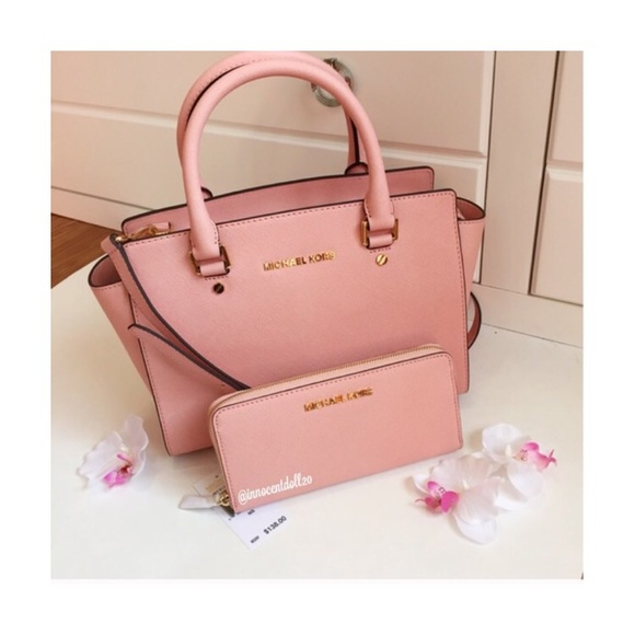 13% off Michael Kors Handbags - ‼️SOLD‼ Michael Kors Pale Pink ...