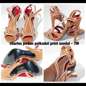 Charles Jordan Polkadots Sandal