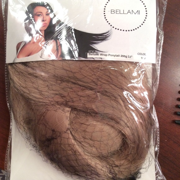 Bellami Accessories Wrap Ponytail Dirty Blonde 18 220g Poshmark