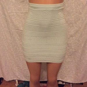 American apparel knit skirt size small