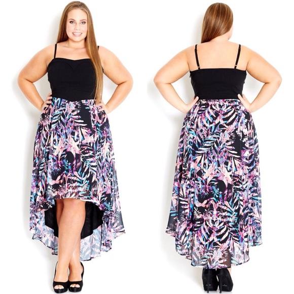 Nordstrom City Chic Dresses Nordstrom Hi Lo Maxi Dress Plus Size