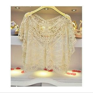 Boutique cream lace top from materialgirl 39 s closet on for 31 twenty five boutique