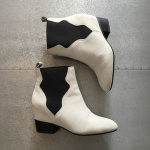 Zara wedge suede booties 6 blogger Nastygal jc