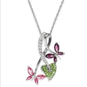 Swarovski Jewelry - Kaleidoscope Swarovski  sterling silver necklace💫