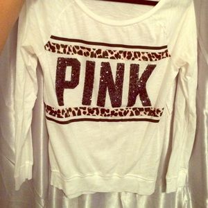 Victoria's Secret pink long sleeve o/s shirt