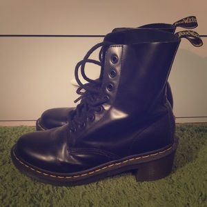 Authentic Dr. Martin sexy combat boots!