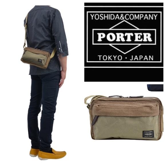 5e996a71a9 🆕Porter Yoshida Kaban Crossbody Bag JAPAN Beige