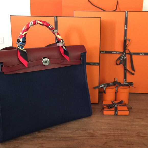 Hermes Bag With Twilly