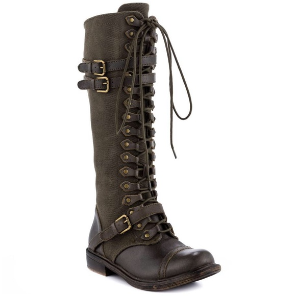 Zigi Girl Military Talia Boots | Poshmark