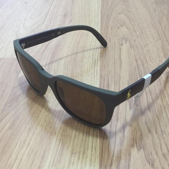 eba74a0e302 Brand New Foldable Polo Glasses-MATTE Hunter Green