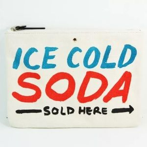 Kate Spade Gia South of Border Ice Cold Soda Pouch