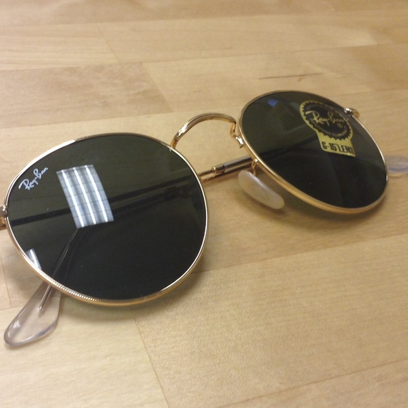 0ae6420c8ba1a New Ray Ban 3447 with G15 lens gold frame