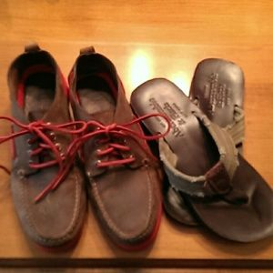 shoe bundle  Sperry and abercrombie:back to school