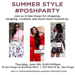 San Diego, You're Invited to a LIVE Posh Party!