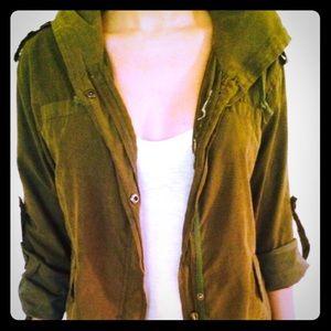 Green Brandy Melville Jacket