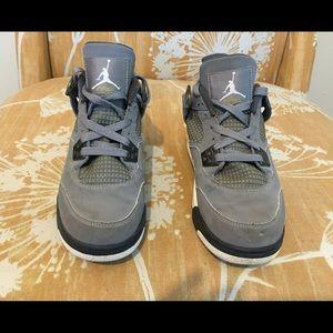 Air Jordan Cool Grey 4s Size