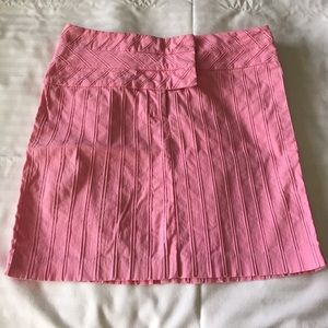 Cache Pink Mini Skirt sz 4 Stretchy Cotton