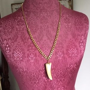Spring Street Jewelry - Faux Tusk Necklace