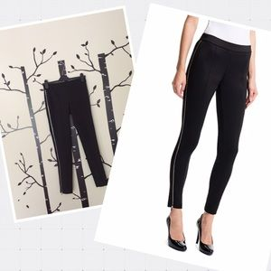 1 State black pants with zipper sides