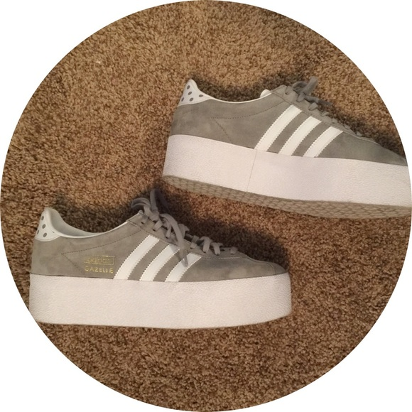 on sale 27a6a 2bd62 Adidas Shoes - Womens Gazelle OG Platform Up EF Shoes