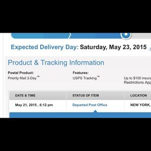One day shipping hope you enjoy