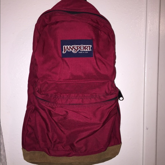 76% off Jansport Other - ✨Jansport Maroon Backpack✨ from Letty's ...