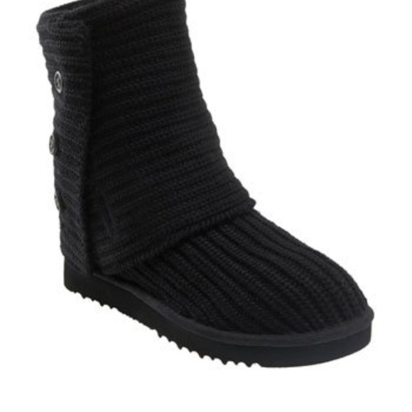 57 ugg boots ugg black knit boots from laika s
