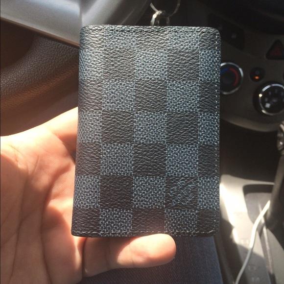 Louis Vuitton Bags   Damier Cobalt Pocket Organizer   Poshmark 367f5661a4