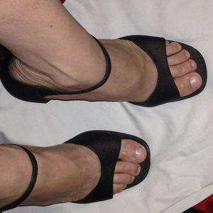 Chocolate brown 2 1/2 inch heels