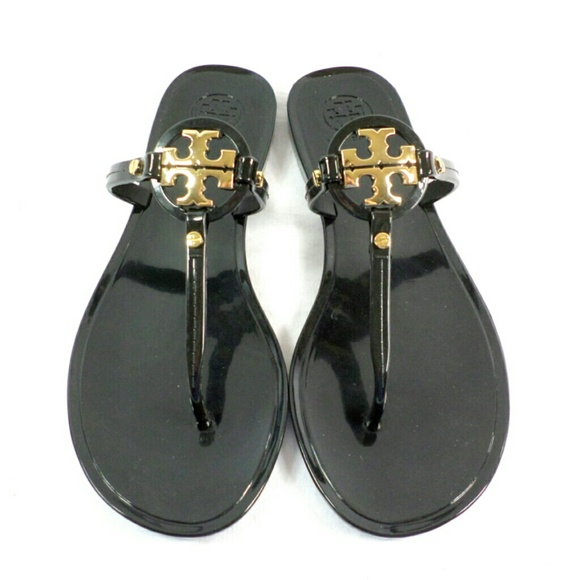 03305c1174f7 Tory Burch Mini Miller Black Jelly Thong Sandals.  M 555ea5189c6fcf4314000f6a. Other Shoes ...