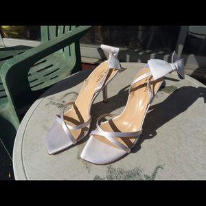 Kate Spade White Heels Size 8