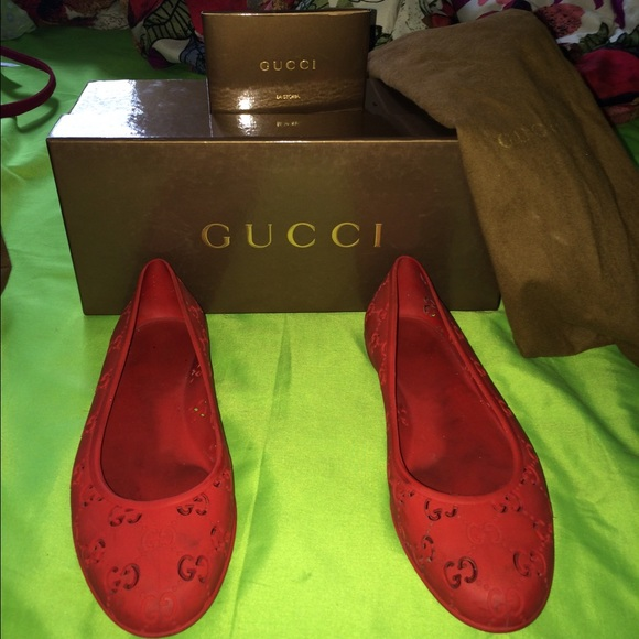 Gucci Shoes | Gucci Jelly Shoes Sold On