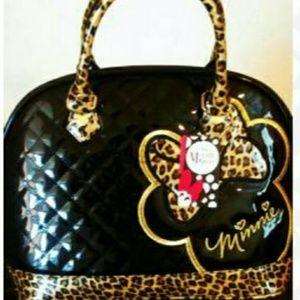 Minnie Mouse leopard purse