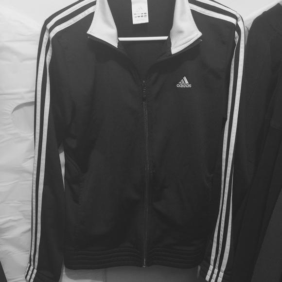 3b0b41fc Adidas Women's Zip-Up Jacket 3 Stripes