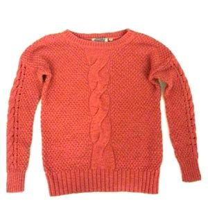 Orange Knit Ecote Sweater