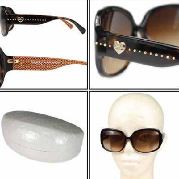 b3c8899429 06cf2 a57f0  official store l902 coach scarlett tortoise dark brown  sunglasses 29f14 caa22