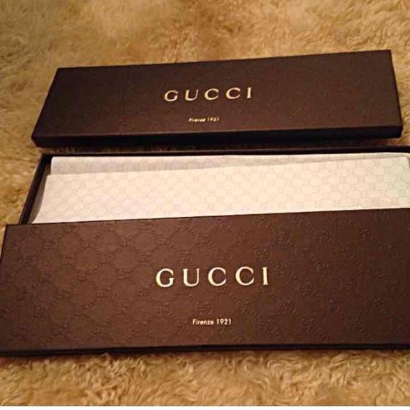 9bb7cb6aa254 Gucci Other - Gucci tie boxes w gucci paper