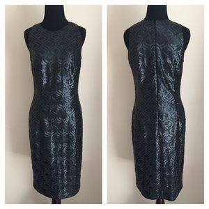 Carmen Marc Valvo Sequin Dress