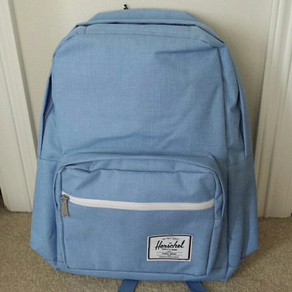 NWT Herschel Supply Co Pop Quiz Chambray Backpack 191f018a2a49a