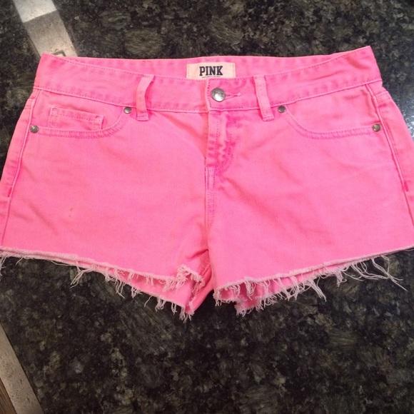81% off PINK Victoria's Secret Dresses & Skirts - Hot Pink PINK VS ...